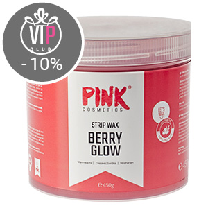 Berry Glow Strip Wax mit Jojoba-Öl (450 g)
