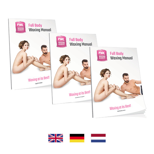 Full Body Waxing Manual ENG / GER / NL (Hardcover)