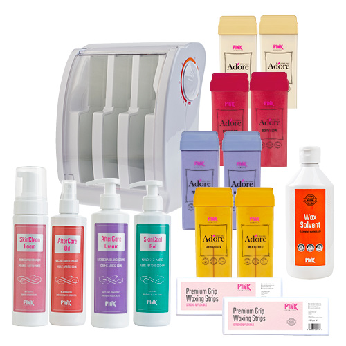 Roll & Go Waxing Kit - For Your Silky Smooth Journey