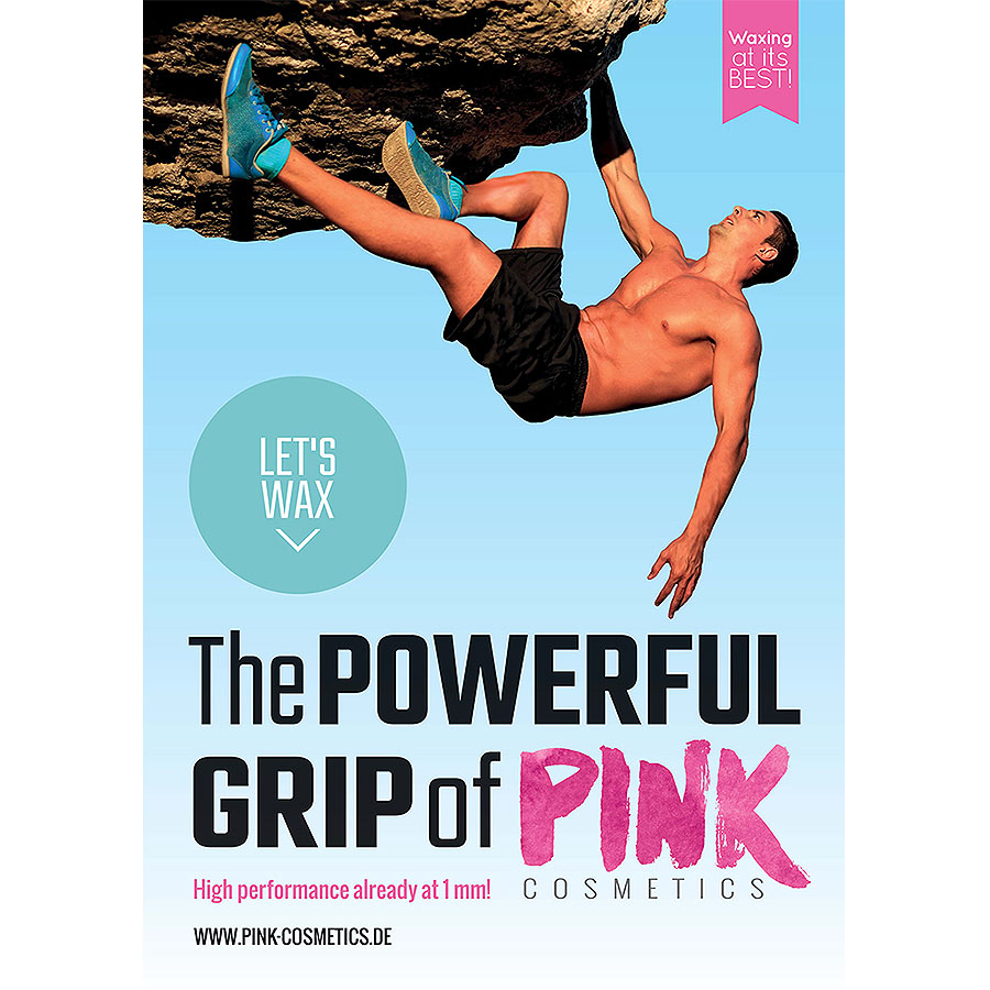 Poster POWERFUL GRIP (A2, portret, Engels)